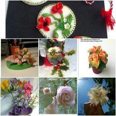 Flori din zahar Sugar Flowers, Table Decorations, Furniture, Home Decor, Homemade Home Decor, Home Furnishings, Decoration Home, Arredamento, Dinner Table Decorations