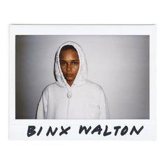 Binx Walton for Alexander Wang SS16