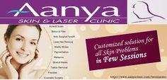 #Skincare #treatments in Aanya Skin Clinic