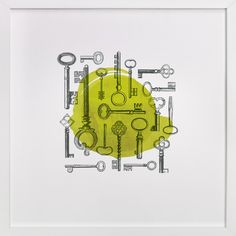 Key Collage by Diana Steinsnyder at minted.com