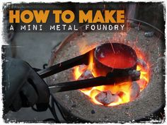 Here is a very interesting video that has lots of applications for preppers. With this DIY mini-foundry you can begin to turn trash into useful stores of metal. Want to transform some old soda cans into something useful or turn some old lead tire weights into bullets? No problem, this little foundry will do it …