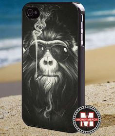 Exclusive Design Monkey  iPhone 4/4s/5 Case  by MickeyMerchandise, $15.00