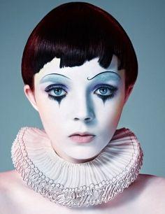 Картинки по запросу dark circus makeup