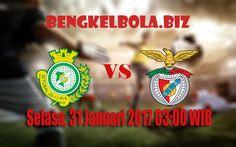 Prediksi Vitoria Setubal vs Benfica 31 Januari 2017