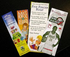Various Bookmarks | by Lester Public Library