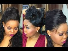 How to make a 360 Wig with cap and Customize Lace Without Bleaching Knots - Black Hair Information