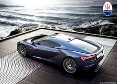 Maserati Bora Concept 2013 on Behance