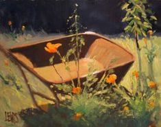 A Wheelbarrow Full of Sunshine | Robert Lewis Art