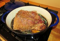 Cooking with Carlee: Balsamic & Rosemary Braised Pork Butt