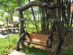 I found this chair in Chaing Mai in Thailand. Looks amazing! Chaing Mai Thailand, Cool Chairs, Outdoor Furniture, Outdoor Decor, Park, World, Amazing, Home Decor, Decoration Home
