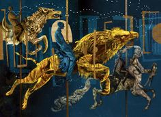 """The Folio Society provided BuzzFeed with images of and from the new 560-page edition, which contains 12 stunning illustrations by McKean, including a frontispiece and three double-page spreads. 