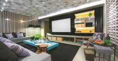 Salas de estar grandes: sugestões para quem tem bastante espaço - BOL Fotos