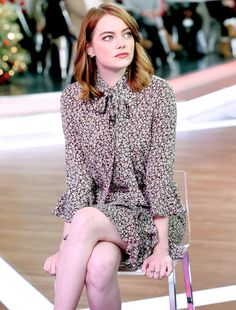 Emma Stone || ABC's 'Good Morning America' (2016)