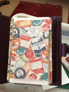 How to make your own Filofax dividers. I don't like the patterns that she uses (too busy) but a good basic idea.