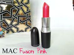 MAC lipstick - Fusion Pink