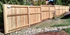 We install Cedar fences at ordered places. Most of the people prefer to install Cedar Fences at their place due to some of its qualities which make them different from other types of fences. Contact us to get Cedar fence services.
