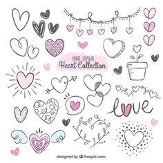 Ideas art journal doodles fonts for 2019 Bullet Journal Art, Bullet Journal Ideas Pages, Bullet Journal Inspiration, Lettering Tutorial, Doodle Lettering, Brush Lettering, Heart Doodle, Heart Hands Drawing, Sketch Notes