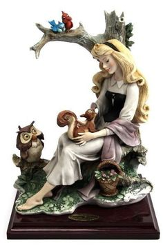 Sleeping Beauty Figurine - Whimsical Items That Will Bring Your Inner Disney Princess to Life - Photos Walt Disney, Disney Home, Disney Magic, Disney Art, Disney Movies, Disney Pixar, Disney Characters, Disney Stuff, Disney Statues
