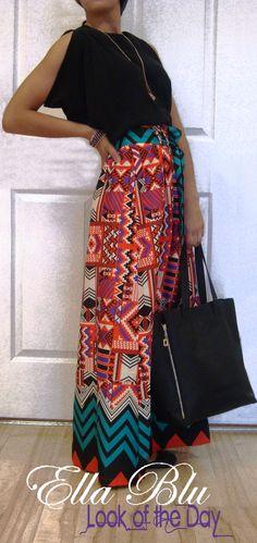 Comfy Maxi Skirt! <3