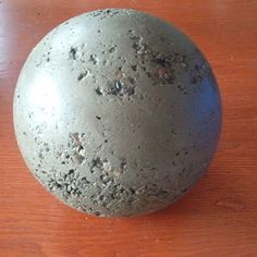 making concrete balls, wonder if this would work with the penny idea?