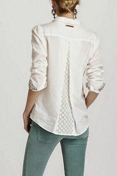 I like the back of this blouse too bad I can't see the front