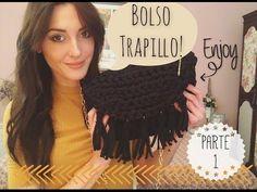 DIY Bolso fácil de trapillo Part.1/ Handmade bag! - YouTube