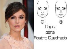 como dibujar las cejas según el rostro