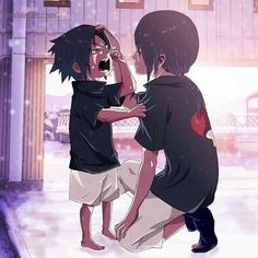 Itachi and Sasuke kawaii~