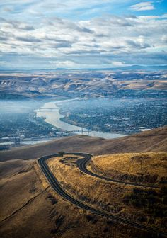 Lewiston,  Idaho and the Lewiston Grade