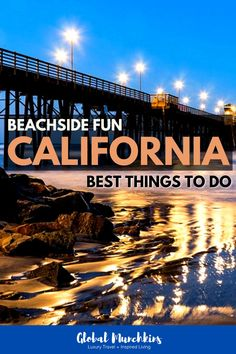Beachside Fun! The Best Things to Do in Oceanside California! Recently we spent a weekend in Oceanside and discovered some of the Best Things to Do in Oceanside California   some are FREE! #familybonding #familyvacation #ultimatetravelguide #traveltips #unwind #relax Oceanside California, Visit California, California Travel, Best Family Beaches, Best Beaches To Visit, All Family, Family Travel, Beautiful Places To Visit, Cool Places To Visit
