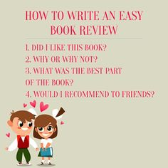 Story River: How to Write a Review In Four Easy Steps