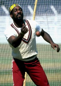 """Sir Viv Richards...one of the best cricket batsmen ever from the 70s. How do you think he got the """"Sir"""" in his name? West Indies represent!!"""