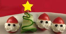 Tomte tomat och gurka gran! Så gör du julens nyttigaste sötsaker