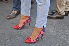 Milan Fashion Week #StreetStyle #Fashion #MFW #MilanFashionWeek #Shoes
