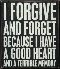 Primitives by Kathy Box Sign, 8-Inch by 7-Inch, Forgive