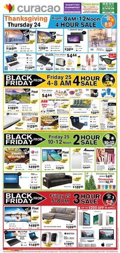 Curacao 2016 Black Friday Ad Preview