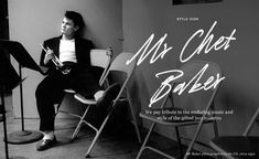 mr chet baker | style icon | The Journal | MR PORTER