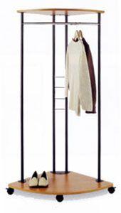 Corner Garment Rack Image