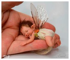 enaidsworld: fairy baby's Adorable little fairy. Looks like what I imagine Fergus and Maribelle's baby would be. Baby Fairy, Love Fairy, Elfen Fantasy, Fantasy Art, Fantasy Fairies, Fairy Dust, Fairy Land, Magical Creatures, Fantasy Creatures