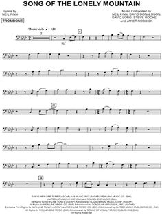 music sheets in alto clef from the lord of the rings - Google Search