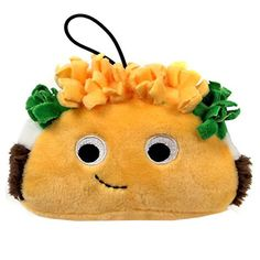 Kidrobot Yummy World Flaco Taco 4 Inch Plush
