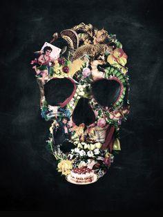 Ali Gulec - Vintage Skull