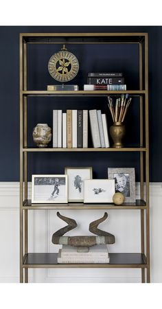 Remi Large Bookcase | Crate and Barrel