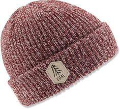 Everyone needs a classic beanie, and this is a solid choice with its marbled rib-knitting and iconic patch.