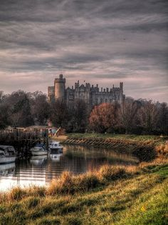 #Arundel Scenic HDR, Sussex, UK by PhilnCaz, via Flickr