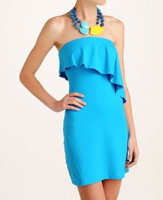 Susana Monaco Angle Flutter Tube Dress - South Moon Under  for my older daughter..so beautiful on curvy figure.