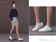 SLYD's Super Star Sneakers (Female version)