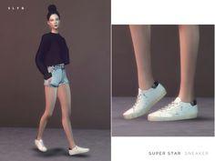 SLYD's Super Star Sneakers (Female version)