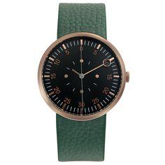 Optimef Fărăzece [COPPER] green leather – OPTIMEF