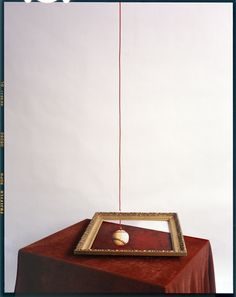 John Chervinsky, 'Red String, Painting on Table,' 2012, Wall Space Gallery